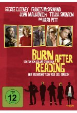 Burn after Reading - Wer verbrennt sich hier die Finger? DVD-Cover