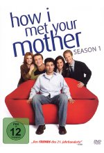 How I met your mother - Season 1  [3 DVDs] DVD-Cover