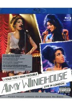 Amy Winehouse - I Told You I Was Trouble/Live in London Blu-ray-Cover