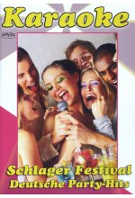 Karaoke - Schlager Festival Deutsche Party-Hits DVD-Cover