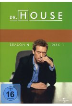 Dr. House - Season 4  [4 DVDs] DVD-Cover