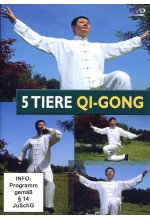 5 Tiere Qi-Gong DVD-Cover
