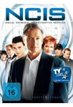 NCIS - Naval Criminal Investigate Service/Season 5  [5 DVDs] DVD-Cover