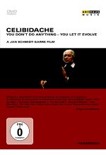 Sergiu Celibidache - You Don't Do Anything - You Let It Evolve<br> DVD-Cover