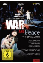 Sergei Prokofiev - War And Peace  [2 DVDs] DVD-Cover