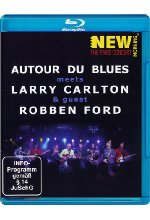 Autour du Blues meets Larry Carlton & Guest Robben Ford - New Morning: The Paris Concert Blu-ray-Cover