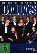 Dallas - Staffel 11  [3 DVDs] DVD-Cover