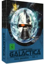 Kampfstern Galactica - Teil 3 - Metal-Pack  [4 DVDs] DVD-Cover