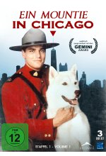 Ein Mountie in Chicago - Staffel 1/Volume 1  [3 DVDs] DVD-Cover