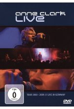 Anne Clark - Live  (+ CD) DVD-Cover