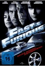 Fast & Furious - Neues Modell. Originalteile. DVD-Cover