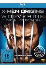 X-Men Origins - Wolverine - Extended Version Blu-ray-Cover