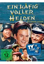 Ein Käfig voller Helden - Season 4  [4 DVDs] DVD-Cover