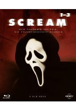 Scream 1-3 - Trilogy  [3 BRs]<br> Blu-ray-Cover