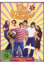 Die wilden Siebziger! - Staffel 7  [4 DVDs] DVD-Cover