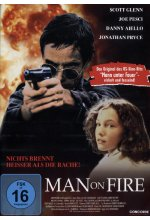 Man on fire DVD-Cover