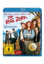 Die  rote Zora<br> Blu-ray-Cover