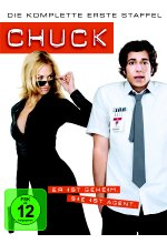 Chuck - Staffel 1  [4 DVDs] DVD-Cover