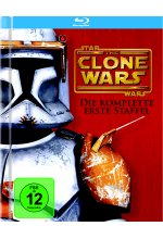 Star Wars - The Clone Wars - Staffel 1  [3 BRs] Blu-ray-Cover