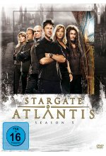 Stargate Atlantis Season 5  [5 DVDs] DVD-Cover