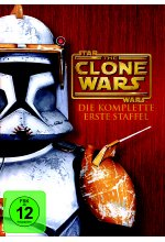 Star Wars - The Clone Wars - Staffel 1  [4 DVDs] DVD-Cover
