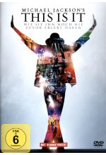 Michael Jackson's This Is It  (OmU) DVD-Cover