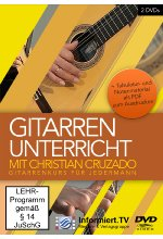 Gitarrenunterricht mit Christian Cruzado - Gitarrenkurs für jedermann  [2 DVDs] DVD-Cover