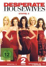 Desperate Housewives - Staffel 5.2  [4 DVDs] DVD-Cover