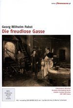 Die freudlose Gasse - Edition Filmmuseum  [2 DVDs] DVD-Cover