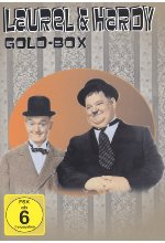 Laurel & Hardy - Goldbox  [3 DVDs] DVD-Cover