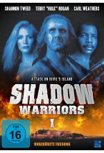 Shadow Warriors 1 - Attack on Devil's Island - Uncut DVD-Cover