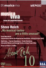 Musica Viva 10 - Steve Reich: My musical tastes are a little unusual DVD-Cover