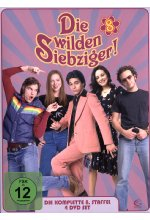 Die wilden Siebziger! - Staffel 8  [4 DVDs] DVD-Cover