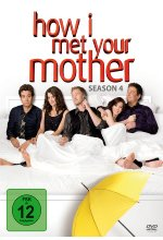 How I met your mother - Season 4  [3 DVDs]<br><br> DVD-Cover