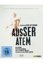Außer Atem - StudioCanal Collection Blu-ray-Cover