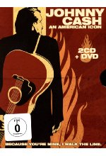 Johnny Cash - An American Icon  (+2 CDs) DVD-Cover