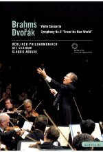 Brahms/Dvorak - Violin Concerto/Symphony No. 9 From the New World DVD-Cover
