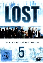 Lost - Staffel 5  [5 DVDs] DVD-Cover