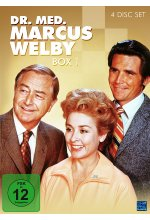 Dr. med. Marcus Welby - Box 1  [4 DVDs] DVD-Cover