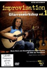 Peter Autschbach - Improvisation/Gitarrenworkshop Vol. 1  (+ Noten-/Tabulaturenbuch) DVD-Cover