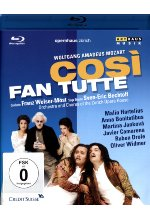 Mozart - Cosi fan tutte<br> Blu-ray-Cover