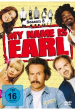 My Name is Earl - Season 3  [4 DVDs] DVD-Cover