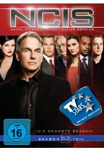 NCIS - Naval Criminal Investigate Service/Season 6.2  [3 DVDs] DVD-Cover