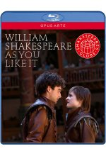 William Shakespeare - As You Like It Blu-ray-Cover