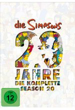 Die Simpsons - Season 20  [4 DVDs] DVD-Cover