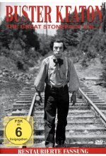 Buster Keaton - The Great Stoneface Vol. 1 DVD-Cover