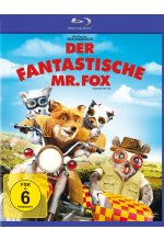 Der fantastische Mr. Fox Blu-ray-Cover