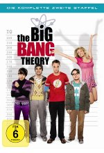 The Big Bang Theory - Staffel 2  [4 DVDs] DVD-Cover