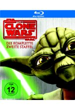 Star Wars - The Clone Wars - Staffel 2  [3 BRs] Blu-ray-Cover