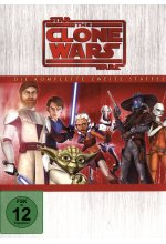 Star Wars - The Clone Wars - Staffel 2  [4 DVDs] DVD-Cover